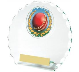 Cricket Trophies Glass Cricket Awards