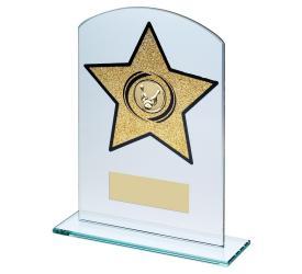 Ten Pin Bowling Trophies Glass Awards