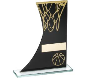 Basketball Trophies Glass Basketball Awards