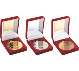 Boxed Medals Basketball