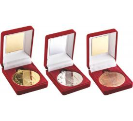 Boxed Medals Netball