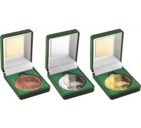 Boxed Medals Gaelic Football