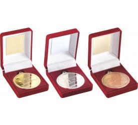 Boxed Medals Swimming