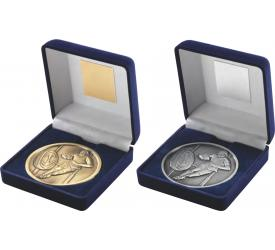 Boxed Medals Rugby