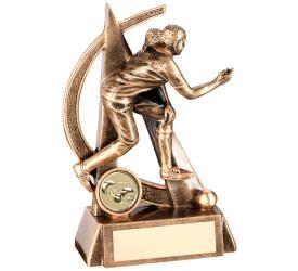 Lawn Bowls Trophies Female Bowls Trophies