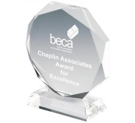 Glass & Crystal Engravable Glass Awards