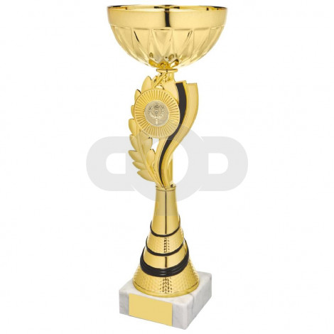 Gold & Black Wreath Cup Award