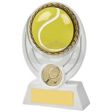 White Tennis Ball Resin Award