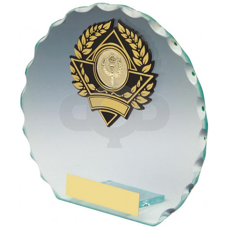 Round Jade Glass Award
