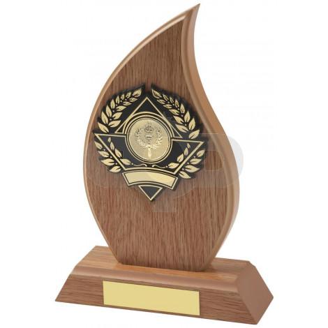Light Wood Effect Flame Award