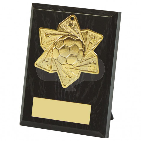 10cm Football Medal Plaque