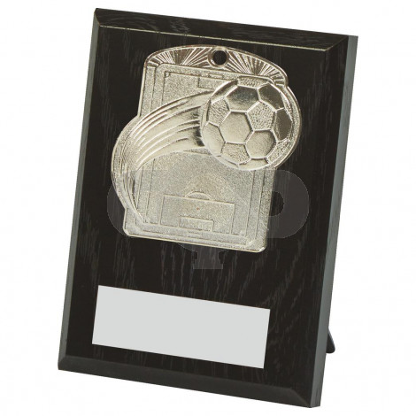 10cm Football Pitch Medal Plaque
