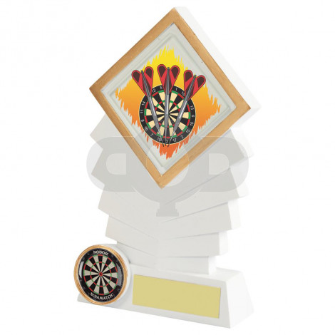 Resin Diamond Darts Award