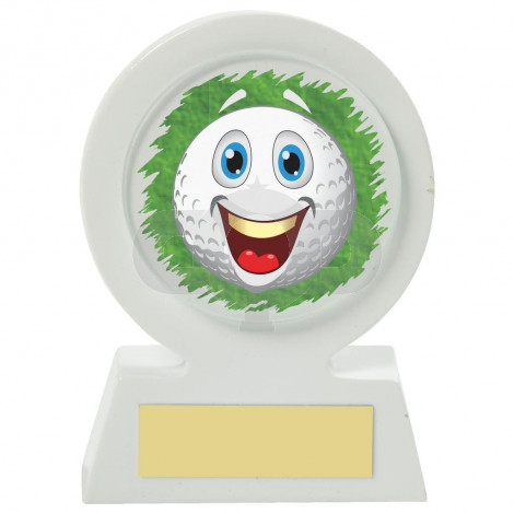 Resin Golf Collectable - Happy