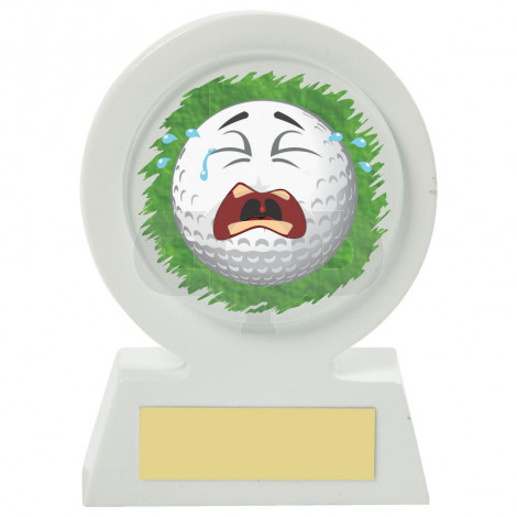 Resin Golf Collectable - Crying