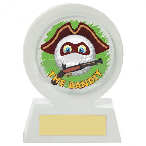 Resin Golf Collectable - Bandit