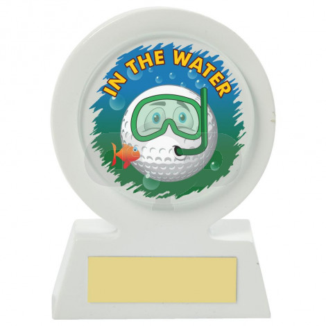 Resin Golf Collectable - Water