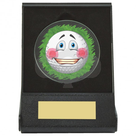 Black Case Golf Collectable - Embarrassed