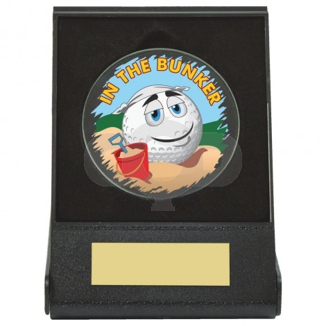 Black Case Golf Collectable - Bunker
