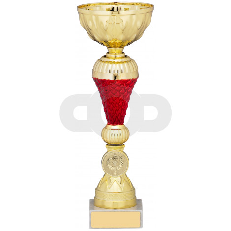 Gold Red Cup Trophy