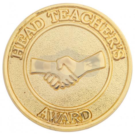 Head Teachers Round Badge