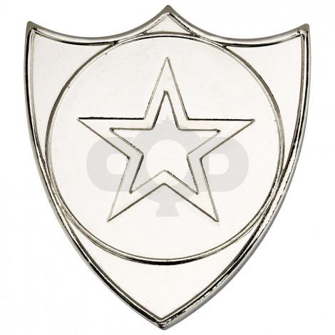 Shield Badge  - Silver