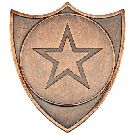 Shield Badge  - Bronze
