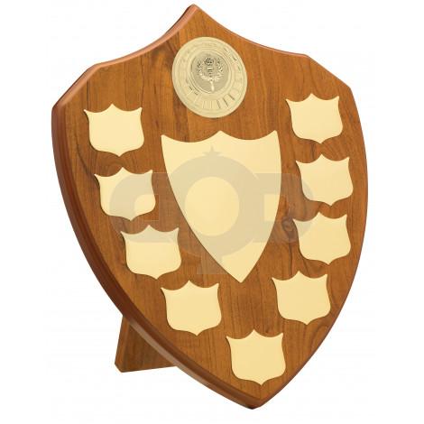Maple 9 Year Budget Presentation Shield