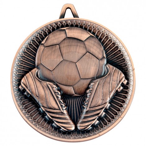 Football Deluxe Medal - Bronze