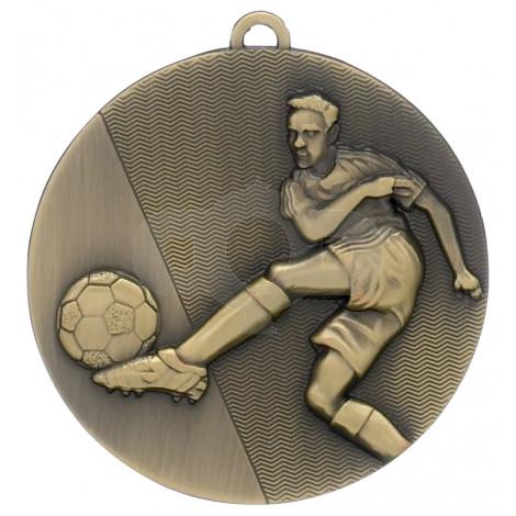 Bronze Football Medal