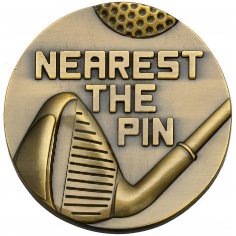 Nearest The Pin Medallion