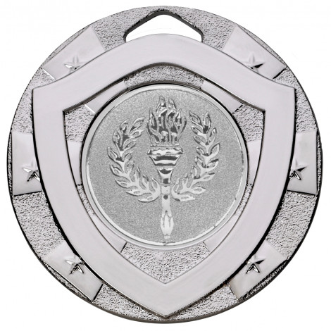 Silver Mini Shield Medal