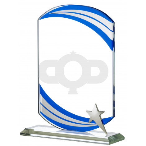 Glass Blue Wave