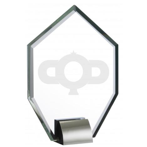 Glass Silver Base