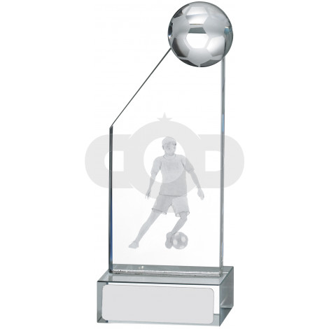 Male Football Glass Award