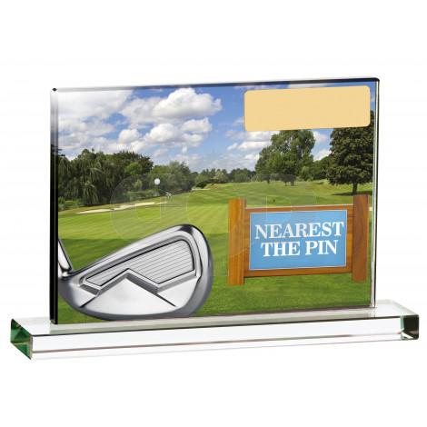 Golf Scene Nearest The Pin