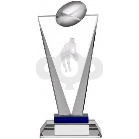 Pinnacle Rugby Glass Award