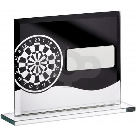 Darts Glass Block Award