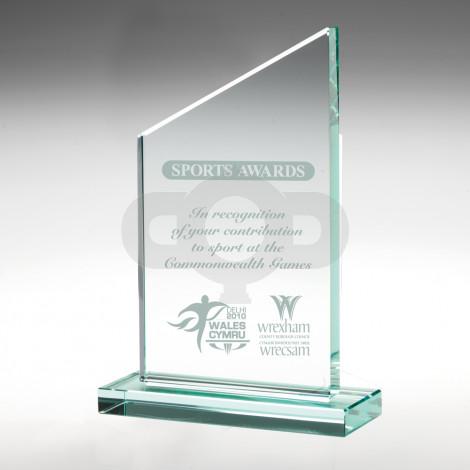 Jade Glass Plaque