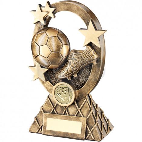 Football Oval Stars Series Trophy