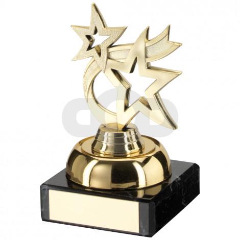 Plastic & Marble 'Dancing Star' Trophy