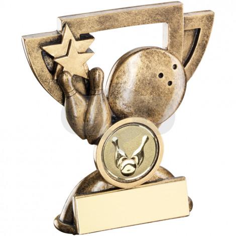 Ten Pin Mini Cup Trophy