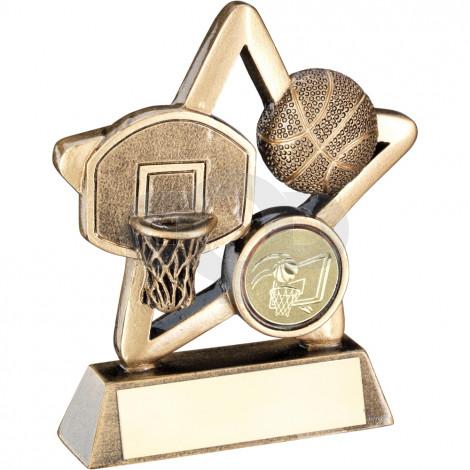Basketball Mini Star Trophy