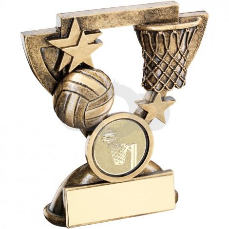 Netball Mini Cup Trophy