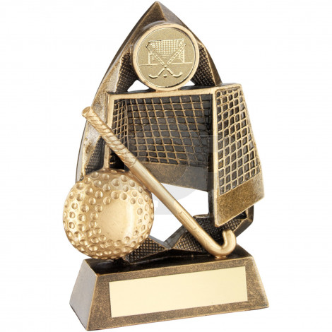Gold Hockey Diamond Collection Trophy
