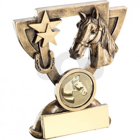 Horse Mini Cup Trophy
