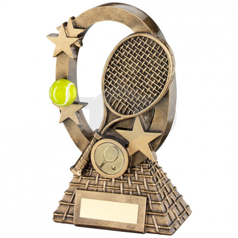 Tennis Oval Stars Series Trophy