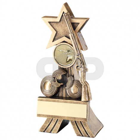 Rifle & Clay Shooting Star Trophy