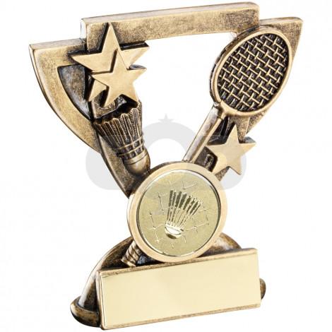 Badminton Mini Cup Trophy
