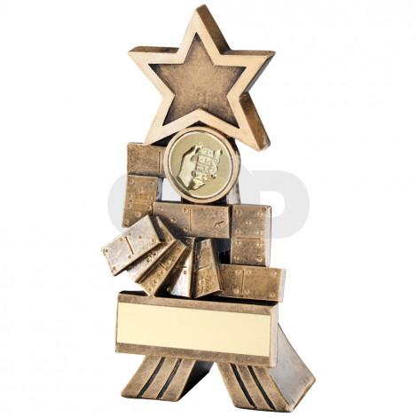 Dominoes Shooting Star Trophy